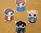 Doctor Who and Sherlock Stickers