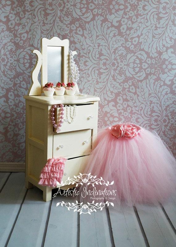 Elegant Dresser Photography Prop