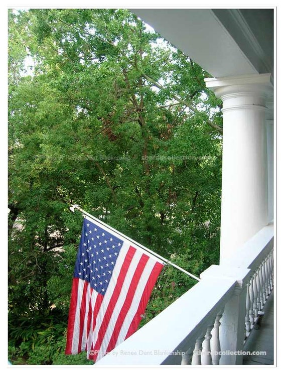 American Flag Photo Stars And Stripes Print Antebellum