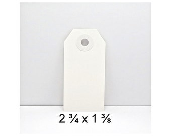 Tags, Soft White Gift Tags, Price Tags, Plain Tags, Small Tags,  Small Hang Tag, Small Gift Tag, white tag, small white tag, plain white tag