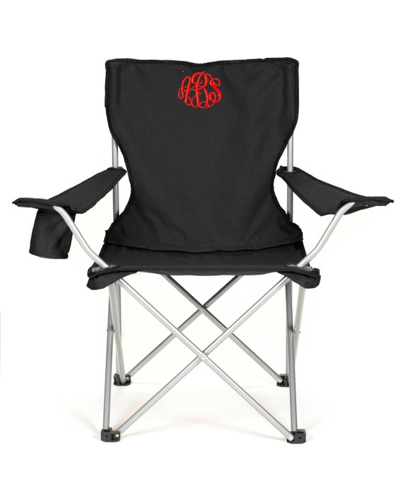 Monogrammed Folding Chair Camping Tailgating Ballgame