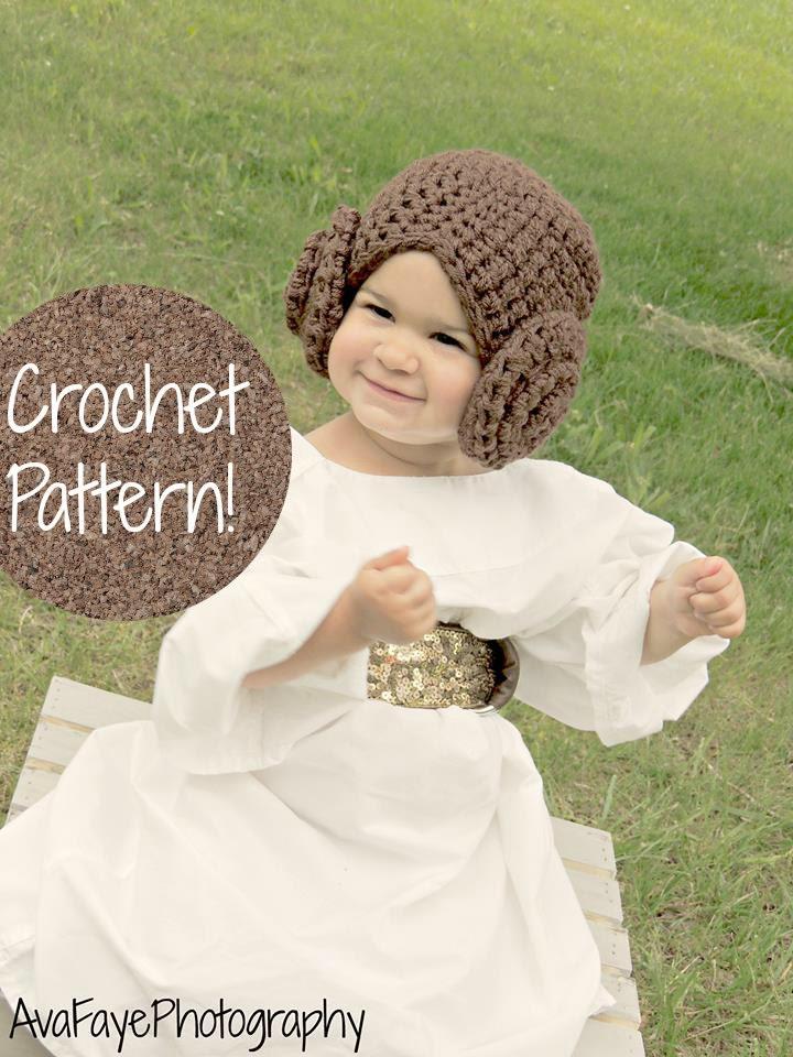 Crochet Pattern Princess Leia Hat : CROCHET PATTERN. Star Wars Princess Leia Hat by AdairToCrochet