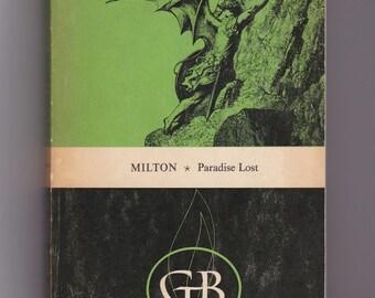 1950s John Milton, Paradise Lost Vintage Paperback, Classic Literature Epic Poem, 17th Century English Poet VPRB01261