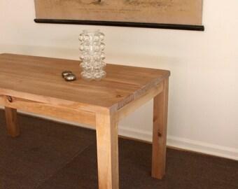 Parsons Desk, Reclaimed Wood Desk