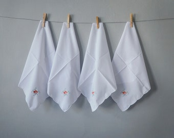 Popular items for embroidered napkin on Etsy