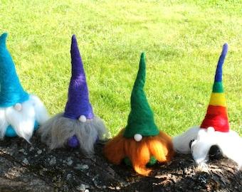 Felt gnome, Nisse man, tomte,Waldorf gnome