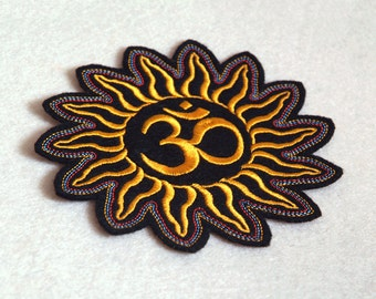 Embroidered Patch Ohm / Aum