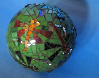 Gazing Ball Made to Order, DragonFly, Butterfly, Bees... What ever you love...