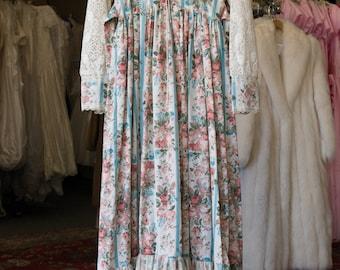 Vintage Gunne Sax Empire Waist Dress  NOS