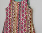 reversible 1952 button dress