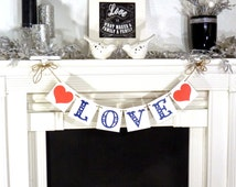 Wedding Banner / Love / Valentine Banner / Valentine's Decorations / My Love Sign / Be Mine Garland / Wedding Photo Prop