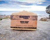 Soap - Beer Soap - Natural Soap, Man Soap, Handmade Soap, Unscented Soap, Manly, Cold Process Soap, Vegan Soap