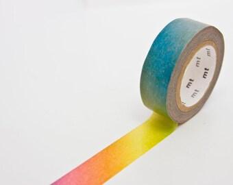 mt ex Rainbow Washi Tape - Japanese Masking Tape - Masking Tape in Melbourne