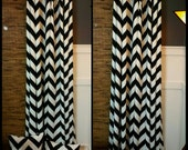 Chevron Curtains, Designer Curtains, Lined Curtains, Blackout Curtains, Unlined Curtains, Single Curtain, Pair of Curtains