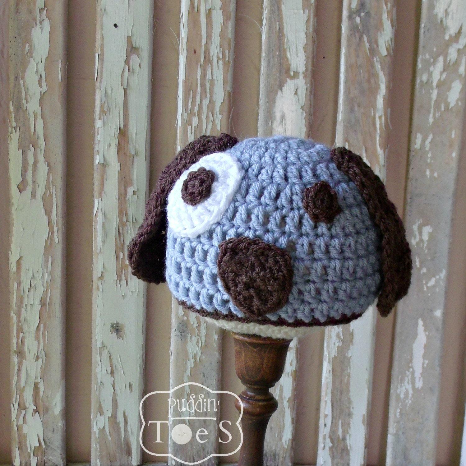 Baby puppy hat crochet puppy baby boy hat newborn puppy baby zoom bankloansurffo Gallery
