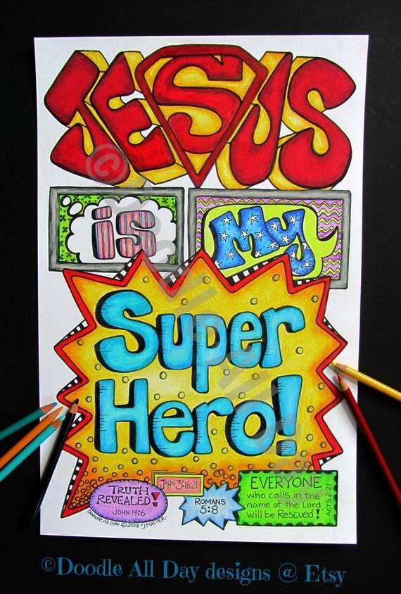 Jesus Is My Superhero Details