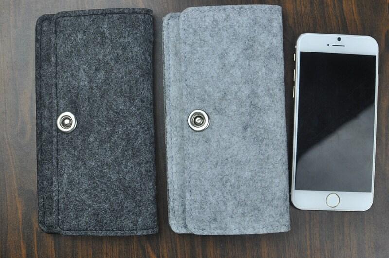 7 iphone case iphone 6 s fall filz geldb rse handy case. Black Bedroom Furniture Sets. Home Design Ideas