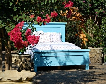 Solid Pine Farmhouse Bed