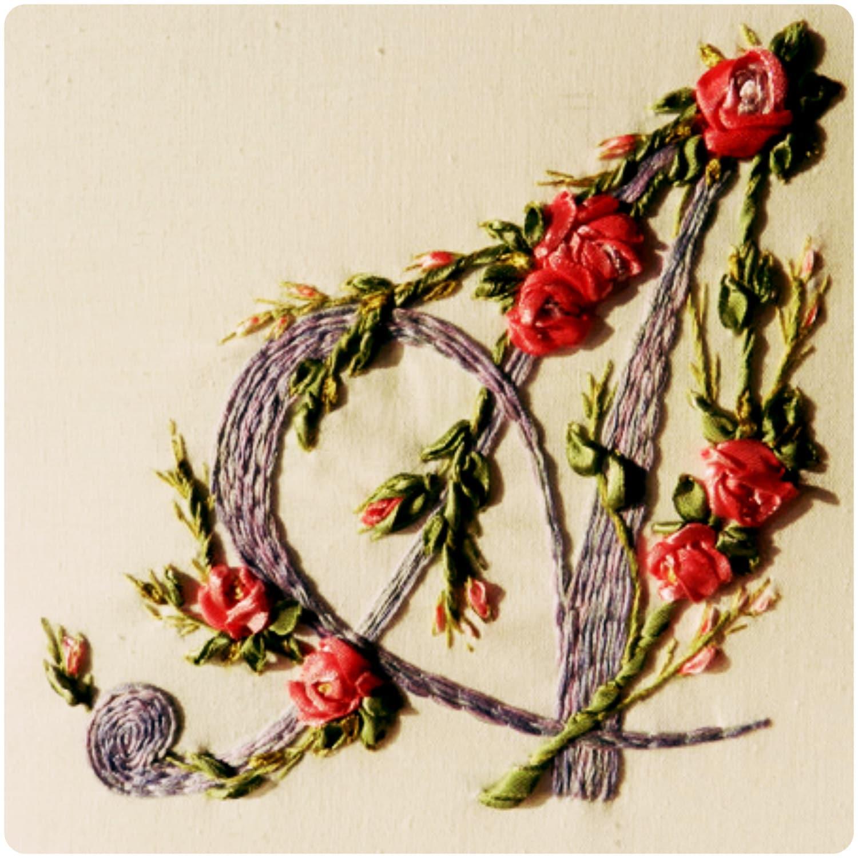 Silk ribbon embroidery by studiosilkrose on etsy