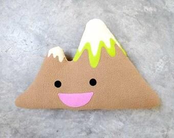 Mountain Cushion, Mountain Plush Toy, Mountain Pillow, Mount Olympus Decorative Cushion, Huggable Toy Cushion, Sir Olympus II