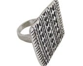 Tribal Block Ring