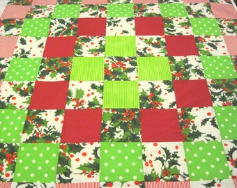 Reclaimed Vintage Fabric Tablecloth