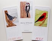 Birds of All Seasons 2014 Calendar