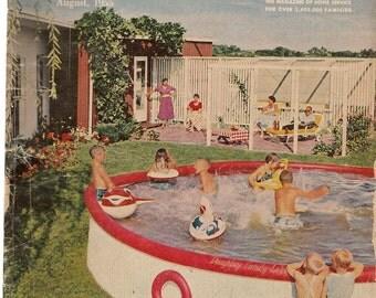 Household Magazine August 1955 - Vintage