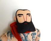 Tattooed Man in a KIlt