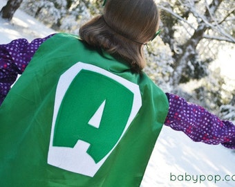 Personlized Superhero Cape kids Costume Capes all sewn no transfers Quality party favors