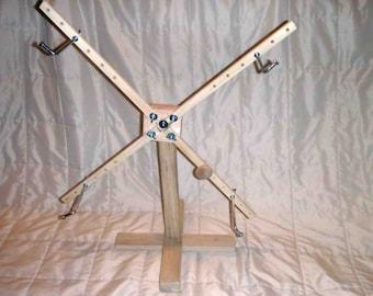 Hardwood Swift/Winder - Freestanding, vertical