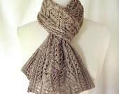 Skipperling Lace Scarf Knitting Pattern PDF