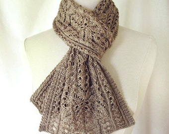 Skipperling Lace Scarf Knitting Pattern PDF
