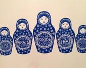 Artists Proof Prussian Blue Russian