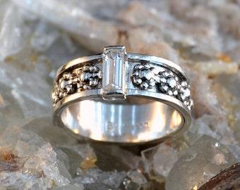 Sapphire Bouquet - gemstone ring