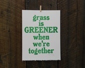 Grass is Greener Broadside