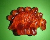Stegosaurus Glycerin Soap
