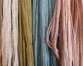 Vermont Wool & Silk Yarn, Made in Vermont Eco textiles