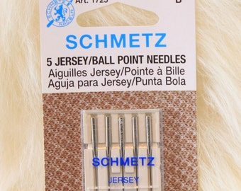 Waldorf Doll Sewing machine  Ball Point Needles for sewing jersey knit doll bodies