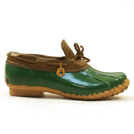 Sporto Duck Shoes Kelly Green Women S Sz 7