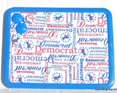 Vote Democrat Magnetic Board Bulletin Board Magnet Board on Etsy 8x11 Comes With 4 Button Magnets Kitchen, Dorm, Student Locker Adults Teens