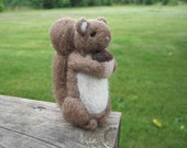 Needle Feletd Squirrel Templeton Figurine