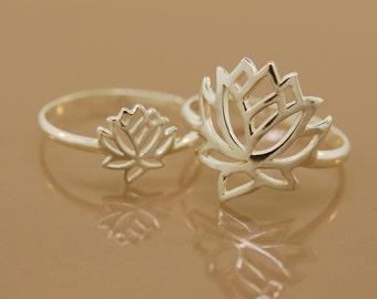 Lotus Rings. Mom & Daughter