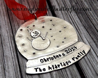 Christmas ornament-personalized ornament-Christmas-2014