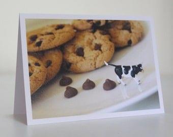 045 - milk chocolate - greeting card