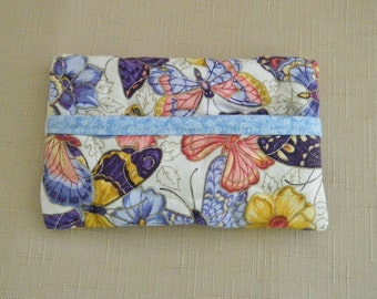 Tissue Holder Quilted - Butterflies