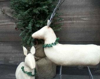 Primitive Reindeer Set Ready to ship