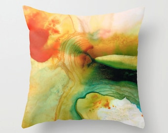 Throw Pillow Abstract Art Design COVER For Your Home On Sofa Bed Chair Or Couch Decor Artsy Decorating Made Easy Living Room Bedroom Bedding