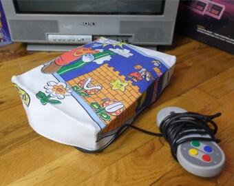 Mario WRETRO WRAPPER console dust cover