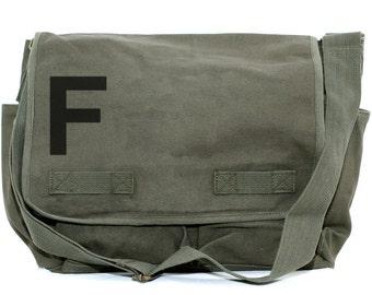 Messenger Bag, Monogrammed Bag, Personalized Bag, Initial Bag, Crossbody Bag, Personalized Diaper Bag, Men & Women Messenger Bag